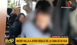 Huancayo: mujer sacó a correazos a menor que se había escondido bajo cama de su hija