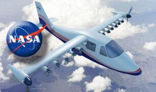 Nasa desarrolla el primer avión tripulado totalmente eléctrico