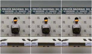 La Libertad: detienen a adolescente que asaltó combi