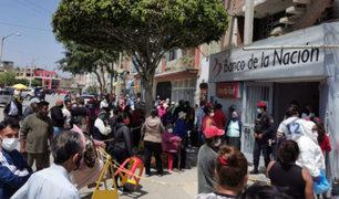 Banco de la Nación ampliará horario para atender cobro de bono y otros subsidios