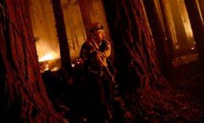 California: incendios por tormenta eléctrica provocan muerte y evacuaciones masivas