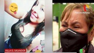 VES: madre de joven asesinada exige pronta captura del autor del disparo