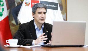 """Ministro de Cultura: """"No ha habido ninguna afectación al patrimonio arqueológico en Sacsayhuamán"""""""
