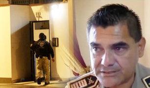 Por supuestas irregularidades en compra de mascarillas detienen a director de la Aviación Policial