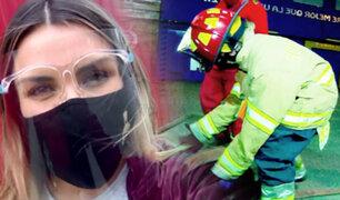 Mujeres de Rojo: las duras pruebas que pasa una aspirante a bombero