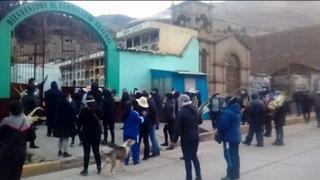 Huancavelica: entierros se ha convertido en nuevo foco infeccioso de COVID-19