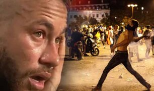 Hinchas del PSG causan disturbios en París por la derrota de su equipo en Champions