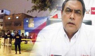"""Ministro del Interior: """"La policía cumplió estrictamente los protocolos establecidos"""""""