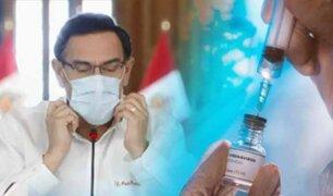 La estrategia de esperar la vacuna: mensaje del Pdte. Vizcarra causó desconcierto