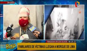 Tragedia en Los Olivos: conmovedor testimonio de la madre de una joven fallecida en discoteca