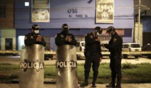 Aíslan a policías que participaron en intervención a discoteca Thomas