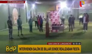 Emergencia sanitaria: continúan organizando fiestas y reuniones en distintos puntos de Lima