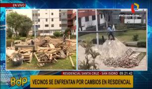 """San Isidro: vecinos de Santa Cruz cuestionan destrucción de sus """"pirámides"""""""