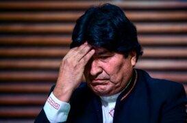 Evo Morales acusado de embarazar a una menor de edad en 2015