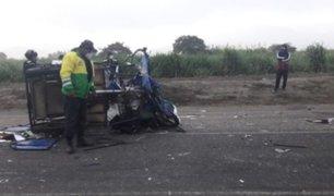 Tragedia en Áncash: accidente de tránsito dejó un muerto y dos heridos de gravedad