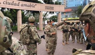 Covid-19: personal militar registra 2,000 contagiados y 70 muertos