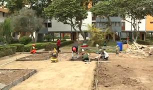 San Isidro: vecinos enfrentados por demolición de pirámides en residencial Santa Cruz
