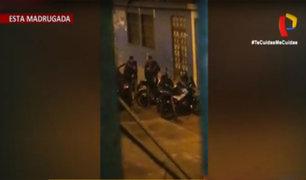 El Agustino: detienen a cuatro sujetos que bebían licor en la calle