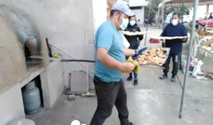 Trujillo: crean panadería para alimentar a desamparados