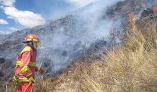 Valle Sagrado de los Incas: incendio forestal pone en riesgo parque arqueológico