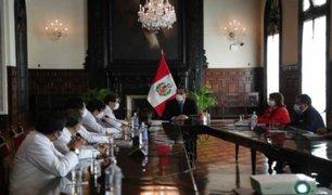 Vizcarra y Colegio Médico del Perú sostuvieron reunión en Palacio de Gobierno