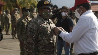 Ministerio de Defensa condecoró a la patrulla que abatió terroristas en el Vraem