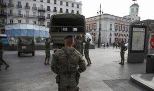 COVID-19 en España: ejército ayudará a rastrear casos positivos