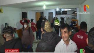 La Victoria: Más de 100 personas detenidas en operativo a bares clandestinos
