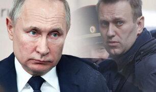 Rusia rechaza las acusaciones contra Putin por caso Navalni