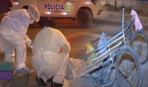 Comas: pareja de recicladores fue arrollada por vehículo que se dio a la fuga