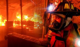 Ate: incendio dejó cuantiosos daños en una mueblería de Santa Clara