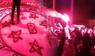 Callao: más de 200 barristas salen a las calles por velorio en pleno toque de queda