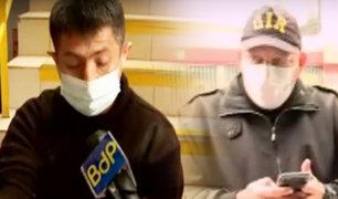 Lince: amarran a vigilante para robar en un centro comercial