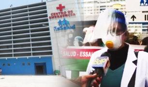 Personal de Essalud inicia huelga nacional indefinida