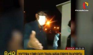 Juliaca: médicos son detenidos por laborar en presunto estado de ebriedad