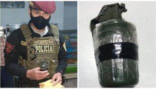Trujillo: PNP logró desactivar explosivo en panadería amenazada por extorsionadores
