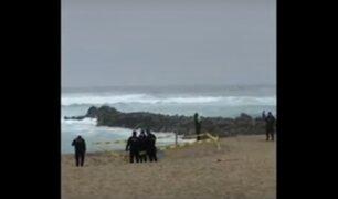 Punta Negra: PNP halló restos de una persona en playa Punta Rocas