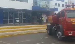 Arequipa: incendio desató terror en municipalidad provincial de Camaná