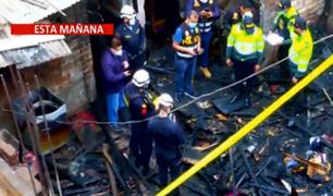 VES: niña de 4 años murió tras incendiarse su vivienda