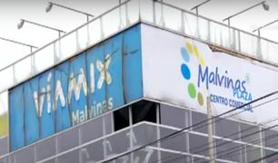 Malvinas Plaza: ofrecen 300 tiendas a ambulantes para su formalización