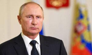 Rusia: cámara de Diputados aprobó ley que garantiza inmunidad judicial de por vida a Putin