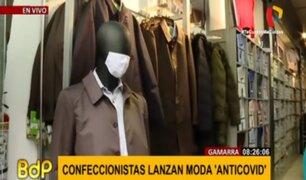 'Moda anticovid': Gamarra se reinventa ante la pandemia