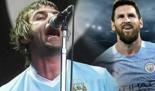 Oasis: Liam Gallagher ofrecerá concierto si Manchester City ficha a Messi
