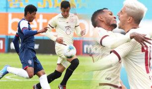 Universitario vence 2-0 a San Martín en el Alberto Gallardo
