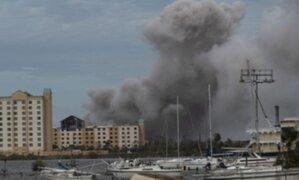 Estados Unidos: Huracán Laura dejó 4 muertos, daños estructurales e incendios.
