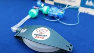 Respira Perú donó ventiladores mecánicos a EsSalud para pacientes con COVID-19