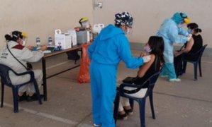 Lambayeque: campaña de vacunación contra la influenza y neumococo se realizó en Ferrañafe