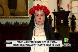 Santa Rosa de Lima: Estatua hiperrealista nos muestra como era físicamente