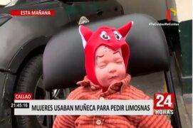 Callao: Mujeres usaban muñeca para pedir limosnas