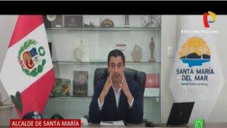 Alcalde de Santa María denuncia que recibe amenazas de muerte de traficantes de terrenos